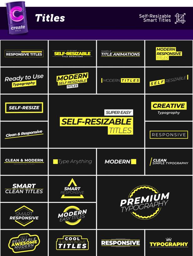 Create Pack - 18